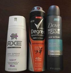 Free deodorant