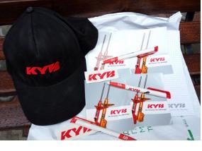 подарки от компании KYB Eurasia